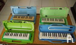Assorted imported melodion/ pianica made in Japan 100%