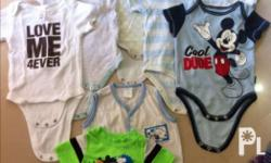 Assorted Infant Clothes (0-6 months) UNISEX. Branded