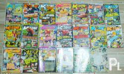 """Selling these 2nd hand & assorted """"K-Zone"""" magazines as"""