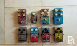 Clearing out some items. Assorted guitar effects pedals