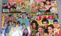 All Magazines are in VG Condition/No issues and No rip