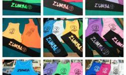 assorted zumba top leggings or jogger pants jersey knot