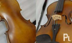 Astrings Viola Ebony Fittings Solid Spruce Top and
