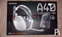 Selling a used Astro A40 Gaming Headset + Mixamp Pro