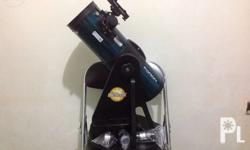 Orion Starblast telescope. Very easy to use and