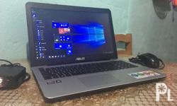 Model: ASUS X555Q (gaming) Amd A10 is a core i7