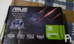 Selling my almost BRAND NEW Asus GT730 1GB GDDR5