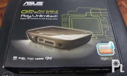 Brand: Asus Stylish and compact HD media player Dolby