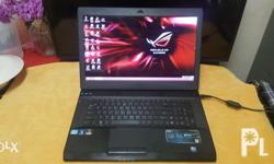 Asus ROG G73Sw 17inch Series Core i7 2.0ghz Quad core