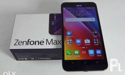 For sale zenfone 3 max Slightly used back up phone Used