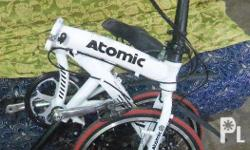 "Selling: Pre-loved Atomic Fit Alloy bike 20"" shimano"