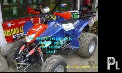 Deskripsiyon 4 wheel motor bike ( All Terrain Vehicle)