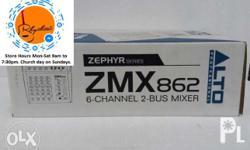 Brand New Alto ZMX862 Mixer On Sale Contact Number On