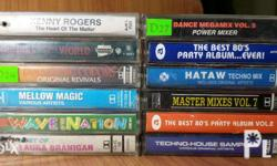 Selling my collection of tapes..P80 each Payment via