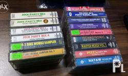 selling my personal collection of music tapes..around