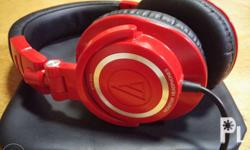 Selling Audio Technica ATH-M50 Red for only 7000 Still