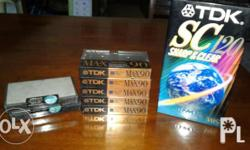 Audio Video Tapes