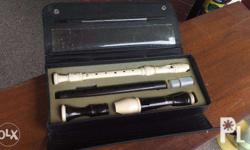 Aulos and Yamaha Recorder flute for sale!!! 1500