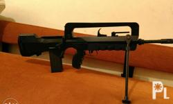 JP brand Famas Aeg. Metal receiver, modified with TU
