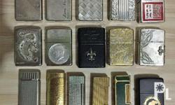 all lighters are authentic, came from Japan indicated