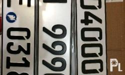 Authentic european license plates for sale. Brandnew