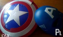 Authentic Hasbro captain America Shield and Mask