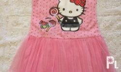 Authentic Hello Kitty Tutu Dress size 8 Brand New With