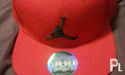 Authentic Jordan cap Brandnew Color red is available