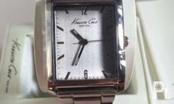 Brand new kenneth cole mens watch Stainless Steel