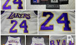 Authentic lakers white jersey