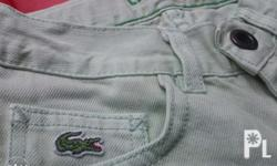 Authentic Lacoste Pants for kids Size 8 i think for