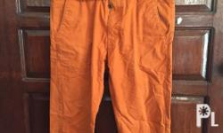 Authentic Levis Pants Slacks Color: rust/orange Size
