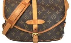authentic LV body bag