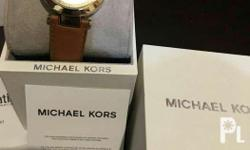 authentic original michael kors watch leather strap