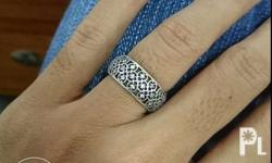 Authentic Pandora Lattice Ring Size: 48 Condition: