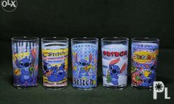 Authentic Stitch Glass - set of 5 - new with box. -