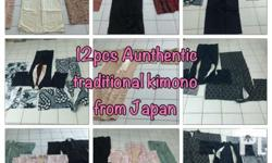 Authentic Traditional kimono and obi belt in Angeles