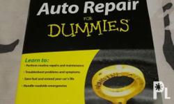 Auto Repair for Dummies textbook A book recommended for