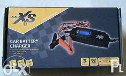 auto xs motorcycle and car battery charger. up to