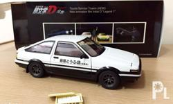 Good day! For sale Initial D diecast models by AUTOart