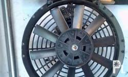 For sale Aux radiator fan Good condition No defect