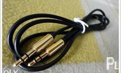 Auxiliary 3.5mm Straight Jack to Jack Audio Extension