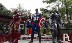 Avengers life-sized statues available for sale and for