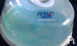 This Avent microwave steam sterilizer was purchased in