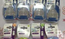 Avent teats available in naturals and classic 290