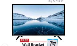 "32"" Smart LED TV Resolution: HD Ready 1366x786 display"