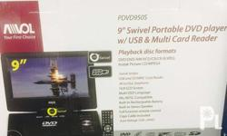 Awol portable dvd player 3 pcs only from US first 3