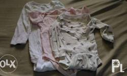 Mostly Branded baby body suits/clothes for sale.{