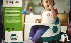 mamas&papas baby bud 3 stage booster seat with