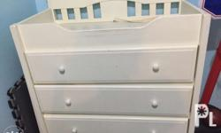 Selling pre loved changing diaper furniture w
